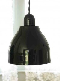 Lampe en porcelaine Domino bbb par Kathleen Hills