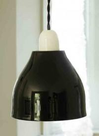 Lampe en porcelaine Domino bwb par Kathleen Hills