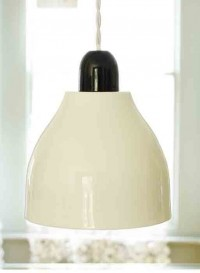 Domino bwb Bone China lamp by Kathleen Hills