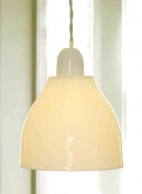 Domino wbw Bone China lamp by Kathleen Hills