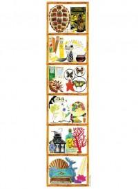 Cabinet de Curiosité wallpaper designed by Marina Vandel for the Collection editions