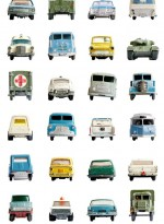 Vintage Car wallpaper by Studio Ditte