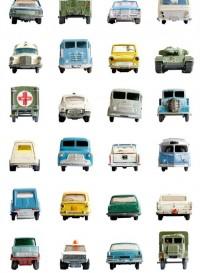 Car, papier-peint petites voitures par Studio Ditte