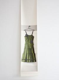 Trompe l'oeil wallpaper 'Rose's dress' by Deborah Bowness