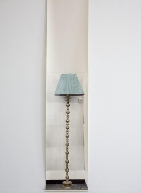 Panneau de papier lampe Semi Drum par Deb Bowness