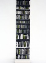 Panneau de papier bibliothèque New Antique Bookshelves par Deb Bowness