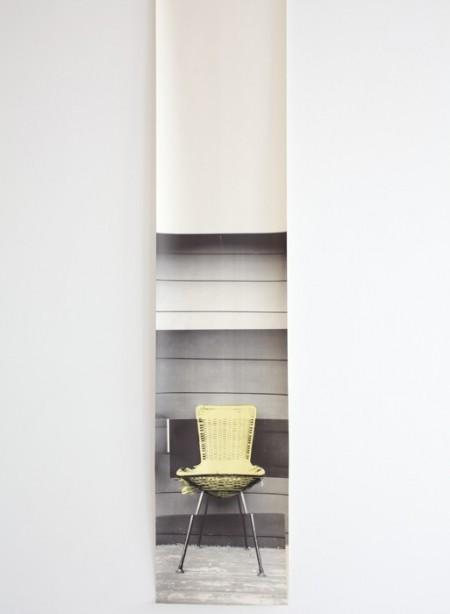 Panneau de papier chaise NZ Chair par Deb Bowness