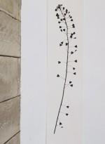 Panneau de papier Heartweed par Tracy Kendall