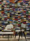 Papier-peint In the White Room multicolore par Tracy Kendall