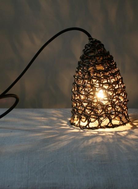Lampe en filet double Baladeuse par Best Before