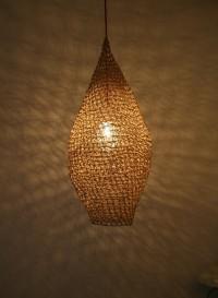 Lampe suspension en filet Drop par Best Before