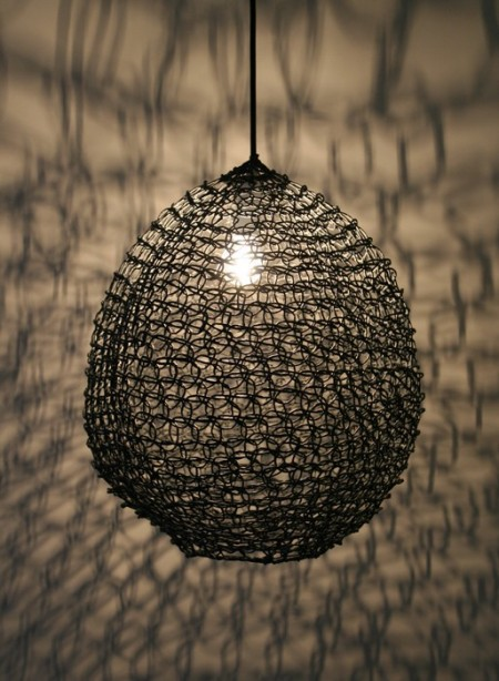 Lampe suspension taille moyenne Filet par Best Before