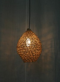 Lampe suspension petite taille Filet par Best Before
