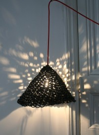 Lampe suspension taille moyenne Jupon par Best Before
