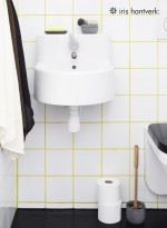Set brosse WC design par Iris Hantverk