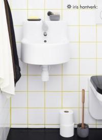 Bristle toilet brush by Iris Handverk