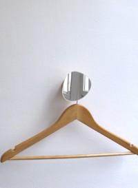 Miroir patère en bois Bolet par Reine Mère