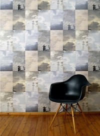 Storm Grey wallpaper by Little Owl