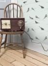 Garden Birds wallpaper par Louise Body