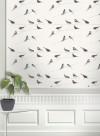 Papier peint oiseaux Garden Birds par Louise Body