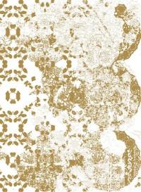 Gold Leaf transitional wallpaper by Lene Toni Kjeld