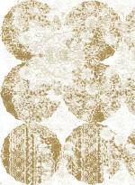Gold Leaf Lace transitional wallpaper by Lene Toni Kjeld