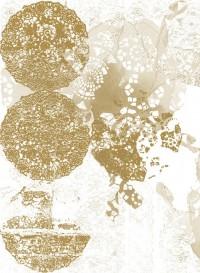 Papier-peint évolutif Lace Rose doré par Lene Toni Kjeld