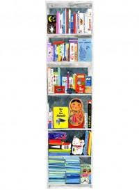 Ma bibliothèque, panneau de papier par Marina Vandel pour the Collection Editions