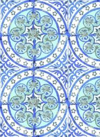Papier peint Old Blue