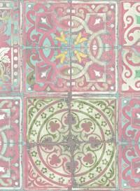 Papier peint de Louise Body Patchwork dusty