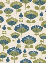 Peony wallpaper designed by Mini Labo and produced by the Collection