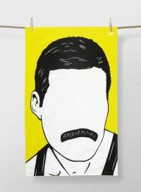 Torchons en coton des Icons - Freddie Mercury