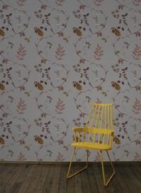 Wallpaper Dutch Garden Copper designed by Little Owl
