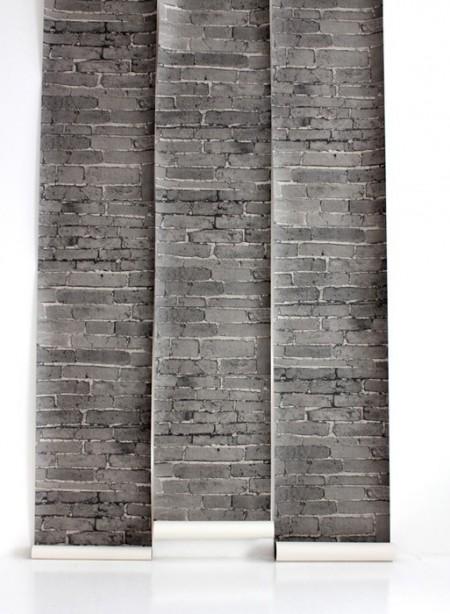 Bricks wallpaper by Deborah Bowness