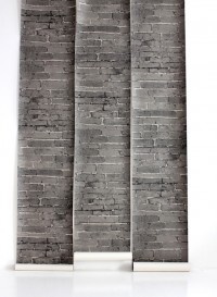Papier peint trompe l'oeil Bricks block par Deborah Bowness