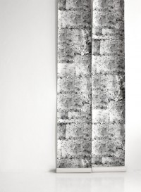 Wall paper 'Notice Board' by Deborah Bowness