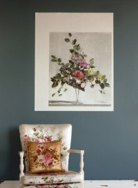 Floral Arrangement wallpaper designed by Deb Bowness 'Gay Flowers'