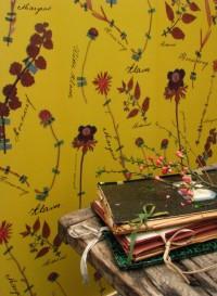 Botanicals papier peint par Little Owl