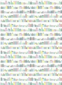 Pastel house wallpaper by Inke