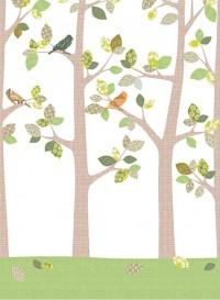 Papier peint Forêt en septembre par Inke