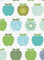 Wallpaper Fruits blue by Inke