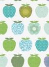 Wallpaper Fruits blue by Inke