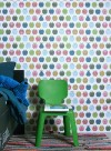 Wallpaper Fruits multicoloured by Inke