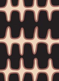 Fishbone Borders wallpaper designed by Eley Kishimoto