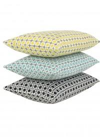 Pistache Corona wool cushion