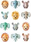 Wild animals papier peint