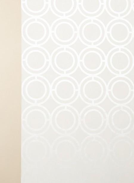 Papier peint géométrique Palladian Loop brillant