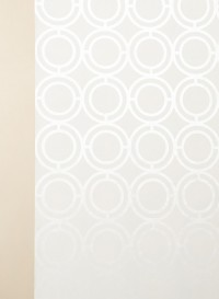 Palladian Loop spot gloss geometric wallpaper