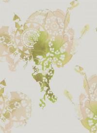 Rose indigo, papier-peint évolutif par Lene Toni Kjeld