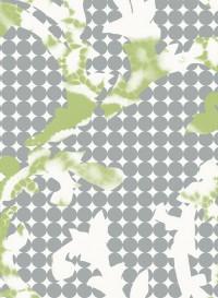 Wave indigo transitional wallpaper by Lene Toni Kjeld
